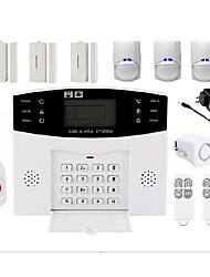 cheap -Wireless Alarm System Home Burglar Alarm Host infrared Alarm Home alarm PIR door and window sound and light alarm