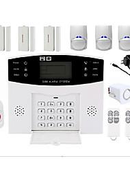 abordables -système d'alarme sans fil accueil alarme anti-intrusion hôte alarme infrarouge alarme maison alarme de porte et fenêtre alarme sonore et lumineuse