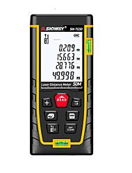cheap -SNDWAY New Laser distance meter 50m range finder rangefinder measure tape laser roulette tools Diastimeter build device SW-TG50