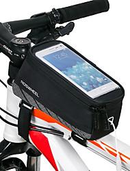 cheap -ROSWHEEL Cell Phone Bag Bike Frame Bag Top Tube 5.7 inch Touch Screen Waterproof Cycling for iPhone 8 Plus / 7 Plus / 6S Plus / 6 Plus iPhone X iPhone XR Black Cycling / Bike / iPhone XS