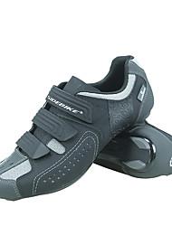 Недорогие -SIDEBIKE Взрослые Обувь для велоспорта нейлон Противозаносный Вентиляция Ультралегкий (UL) Шоссейные велосипеды Велосипедный спорт / Велоспорт Серый Муж. Жен. Универсальные Обувь для велоспорта