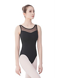 cheap -Ballet Leotards Women's Training / Performance Cotton / Elastane / Vicose Split Joint Sleeveless Leotard / Onesie