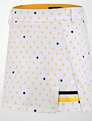 cheap -Women's Skirt Golf Sports & Outdoor Autumn / Fall Spring Summer / Spandex / Stretchy / Dots