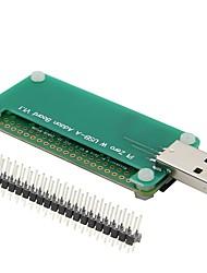 cheap -Raspberry Pi Zero USB Adapter Board USB BadUSB Expansion Board Available for Zero and Zero W