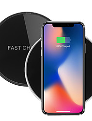 cheap -C6 10W Wireless Car Charger Mirror QI Fast Charging Wireless Charger For iphone X 8/8Plus Samsung S8 Xiaomi mi5 mi6