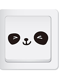 cheap -Light Switch Stickers - Animal Wall Stickers Animals Living Room / Bedroom / Kitchen / Re-Positionable