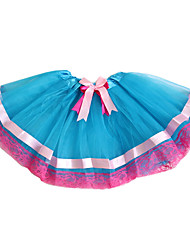 cheap -Petticoat Hoop Skirt Tutu Under Skirt 1950s Blue Petticoat / Kid's / Crinoline