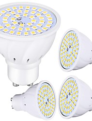 cheap -4pcs 5 W 450 lm 48 LED Beads LED Spotlight Warm White Cold White 220-240 V