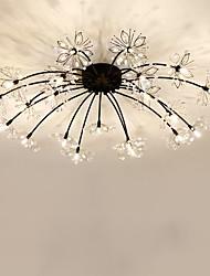 cheap -20 Bulbs QIHengZhaoMing 100 cm Flush Mount Lights Metal Painted Finishes Traditional / Classic 110-120V / 220-240V / G4