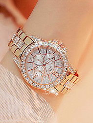 cheap -Women's Wrist Watch Gold Watch Japanese Quartz Silver / Gold / Rose Gold New Design Casual Watch Imitation Diamond Analog Casual Fashion - Gold Silver Rose Gold Two Years Battery Life