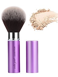 cheap -Professional Makeup Brushes 1 Piece Professional Synthetic Synthetic Hair Aluminium for Blush Brush Makeup Brush