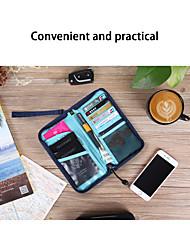 Недорогие -Органайзер для паспорта и документов Нейлон Компактность / Аксессуары для багажа / Прочный Полотняное плетение