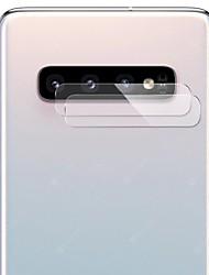 Недорогие -Samsung GalaxyScreen ProtectorGalaxy S10 HD Протектор объектива камеры 1 ед. Закаленное стекло
