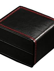 Недорогие -Коробки для часов Кожа PU / Смешанные материалы Аксессуары для часов 0.08 kg Удобный