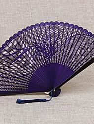 Недорогие -Взрослые Муж. Жен. азиатский кисточка В китайском стиле Косплэй Kостюмы Назначение Для вечеринок На каждый день Подарок Бамбук Складной ручной вентилятор