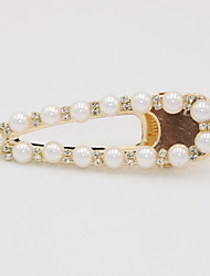 cheap -Women's Party Active Cute Imitation Pearl Alloy Solid Colored