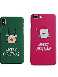 cheap -Case For Apple iPhone XS / iPhone XR / iPhone XS Max Frosted / Pattern Back Cover Animal / Cartoon Hard PC