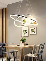 cheap -1-Light 60+40 cm LED Pendant Light Metal Acrylic Circle Others Modern Contemporary 110-120V / 220-240V