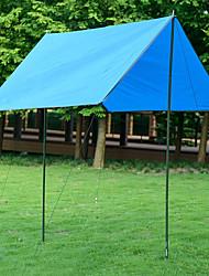 cheap -Naturehike Tent Tarps Camping Shelter Outdoor Camping Waterproof Rain Waterproof Anti-Wear Oxford PU(Polyurethane) 215*215 cm Camping / Hiking Beach Traveling for 3 - 4 person Orange Army Green Blue
