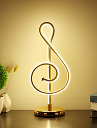 cheap -Table Lamp / Desk Lamp Decorative / Lovely Simple / Modern Contemporary LED power supply For Study Room / Office / Girls Room Aluminum 220-240V White / Gold