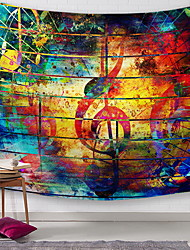 cheap -Classic Theme Wall Decor 100% Polyester Modern Wall Art, Wall Tapestries Decoration