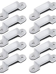 cheap -50pcs 0.7*1.4 cm 5050 SMD DIY / Strip Light Accessory Plastic Accessories for LED Strip light