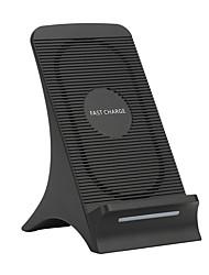 Недорогие -беспроводное автомобильное зарядное устройство вентилятор тепловыделение ци стандартная беспроводная зарядная подставка для Samsung Note 8 / Note 7 / S8 / S8