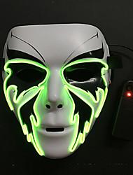 Недорогие -LED Маски Маска Хэллоуина Вдохновлен Смерть с косой Белый Хэллоуин Хэллоуин Маскарад Взрослые Муж.