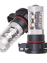 Недорогие -OTOLAMPARA 2pcs H10 / H16 / H9 Автомобиль Лампы 50 W SMD 2323 2200 lm 10 Светодиодная лампа Противотуманные фары Назначение Toyota RAV4 / Prius / Prado 2012 / 2013 / 2014