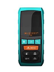 cheap -Mileseey Rangefinder S6 100M Laser Distance Meter Blue Digital Range Finder Measure Distance/Area/volume Genuine