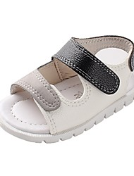 cheap -Boys' Comfort / First Walkers Faux Leather Sandals Infants(0-9m) / Toddler(9m-4ys) White / Red Summer