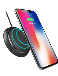 cheap -Rock W5 Fashion Wireless Car Charger Fast Charging Pad For iphone X 8/8Plus Samsung S8 S7 S6