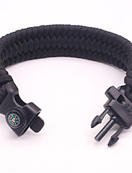 cheap -Paracord Bracelet Rope Light and Convenient Other Material Rope Outdoor Exercise Army Green Green Blue / White 1 pcs