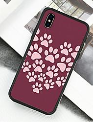 Недорогие -Кейс для Назначение Apple iPhone XS / iPhone XR / iPhone XS Max С узором Чехол Животное Твердый Акрил