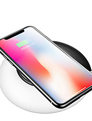 cheap -Bakeey 10W 7.5W Wireless Car Charger Fast Charging Pad With Adjustable LED Light For iPhone X 8Plus Xiaomi Mix 2S
