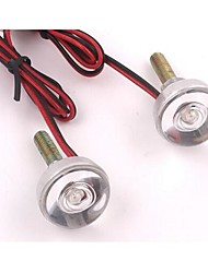 cheap -2pcs Wire Connection Motorcycle Light Bulbs LED Tail Lights / Decoration Lights For universal / Toyota / Benz All Models All years