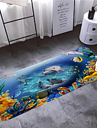 cheap -1pc Cartoon / Modern Bath Mats Coral Velve Novelty / Animal 5mm Bathroom Non-Slip / New Design / Adorable