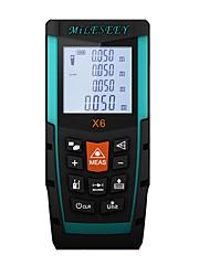 cheap -Mileseey X6 100M Laser Rangefinder Meter Measure Distance Hunting Tool Blue Range Finder Tool for Measure Laser