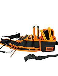cheap -Durable Hardware Bag Electrician Canvas Tool Bag Belt Utility Kit Pocket