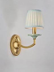 cheap -Simple Modern Contemporary Flush Mount wall Lights Living Room Bedroom Copper Wall Light IP20 110-120V 220-240V