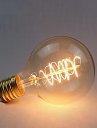 cheap -1pc 60 W E26 / E27 G80 1800-2200 k Incandescent Vintage Edison Light Bulb 220-240 V