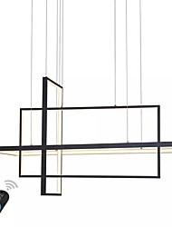 Недорогие -UMEI™ 38 cm Диммируемая Люстры и лампы Алюминий Линейные Окрашенные отделки LED / Современный современный 110-120Вольт / 220-240Вольт