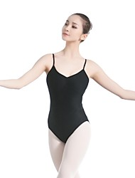 cheap -Ballet Leotards Women's Training / Performance Nylon / Spandex Bandage Sleeveless Leotard / Onesie