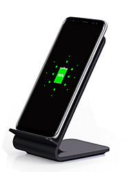 Недорогие -Bakeey A8 10 Вт быстрая зарядка qc2.0 3.0 Ци беспроводное автомобильное зарядное устройство настольный светодиодный зарядное устройство стенд