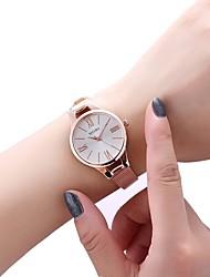 Недорогие -Жен. Нарядные часы золотые часы Кварцевый Серебристый металл / Розовое золото Повседневные часы Аналоговый Мода - Розовое золото Серебряный