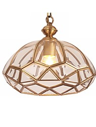 cheap -1-Light MAISHANG® 28 cm Flush Mount Lights Metal Bowl Electroplated Retro 110-120V / 220-240V / FCC / E26 / E27