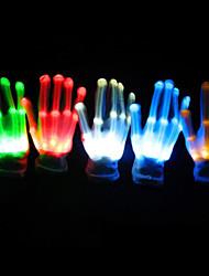 abordables -1 set Doigt de Lumière LED Bouton alimenté par batterie Pile