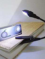 cheap -portable mini LED reading light book clip light protable bright Flexible Gooseneck for tablet computer 1 pc