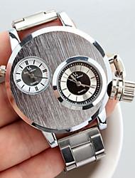 Недорогие -V6 Муж. Наручные часы Кварцевый Серебристый металл Повседневные часы Аналоговый На каждый день Мода - Серебряный