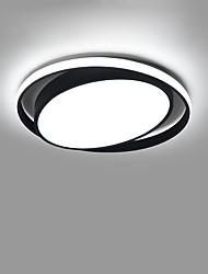 cheap -1-Light CONTRACTED LED® 60 cm Creative / New Design Flush Mount Lights Aluminum Circle / Geometrical Painted Finishes Artistic / Modern 110-120V / 220-240V